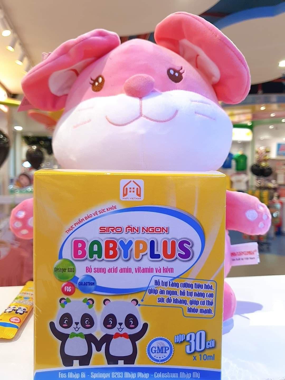 Siro ăn ngon BabyPlus có tốt không? Có nên sử dụng Siro ăn ngon Baby Plus?