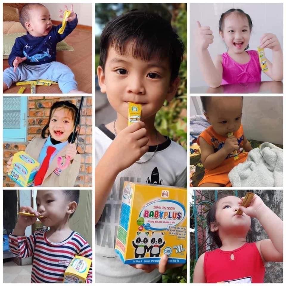Công dụng của siro ăn ngon BabyPlus?